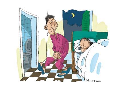 Tìm hiểu chứng bệnh đi tiểu đêm 1