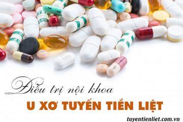 Điều trị u xơ tuyến tiền liệt bằng thuốc gì?