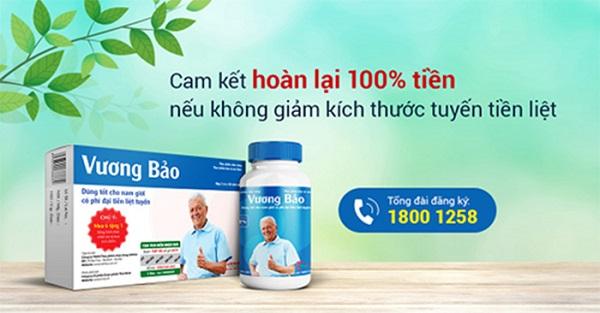 Vương Bảo giảm kích thước u xơ ngăn ngừa bệnh tái phát 1