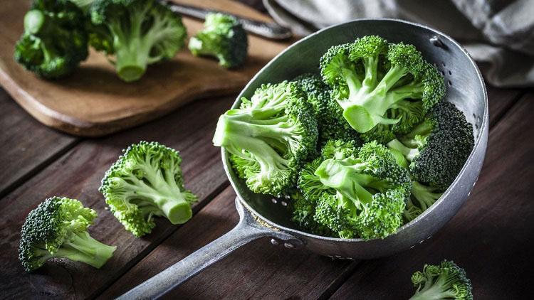 3. Bông cải xanh (súp lơ xanh) 1
