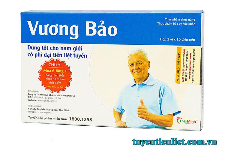 Vương Bảo cải thiện tình trạng phì đại tuyến tiền liệt hiệu quả 2