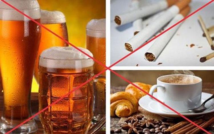 Người mắc phì đại tuyến tiền liệt không nên uống gì? 1