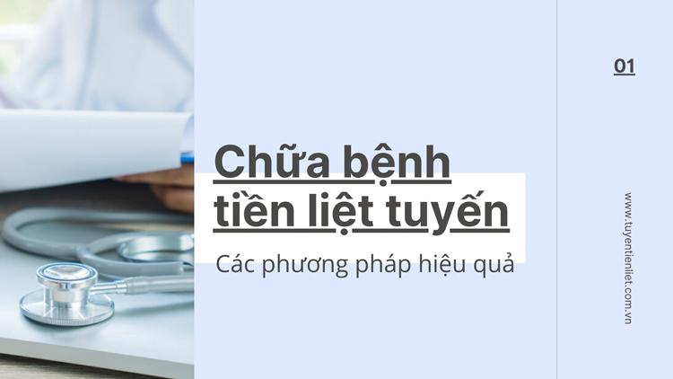 Các phương pháp hiệu quả chữa tiền liệt tuyến ở nam giới 1